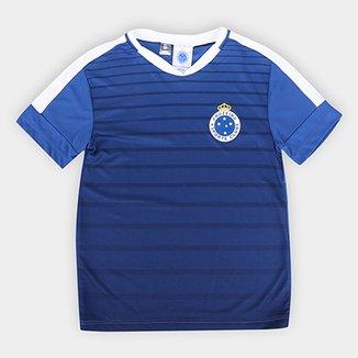bf2b4d1bb2 Camiseta Infantil Cruzeiro Strike
