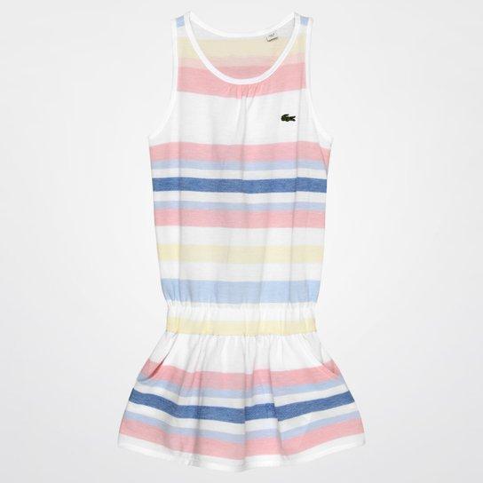 Vestido Lacoste Infantil - Compre Agora   Netshoes 3842beb2eb