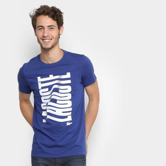 d153f0a0fc Camiseta Lacoste Logo Masculina - Compre Agora