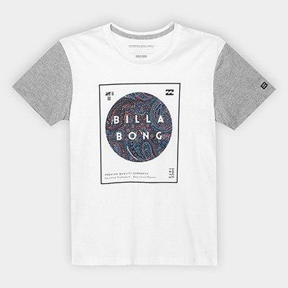 Camiseta Billabong Infantil Estampada Masculina