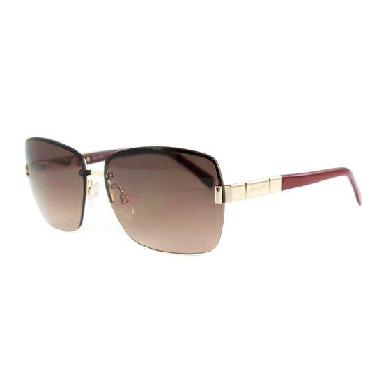 9d8f60c26c647 Óculos Bulget De Sol - Dourado+Vermelho