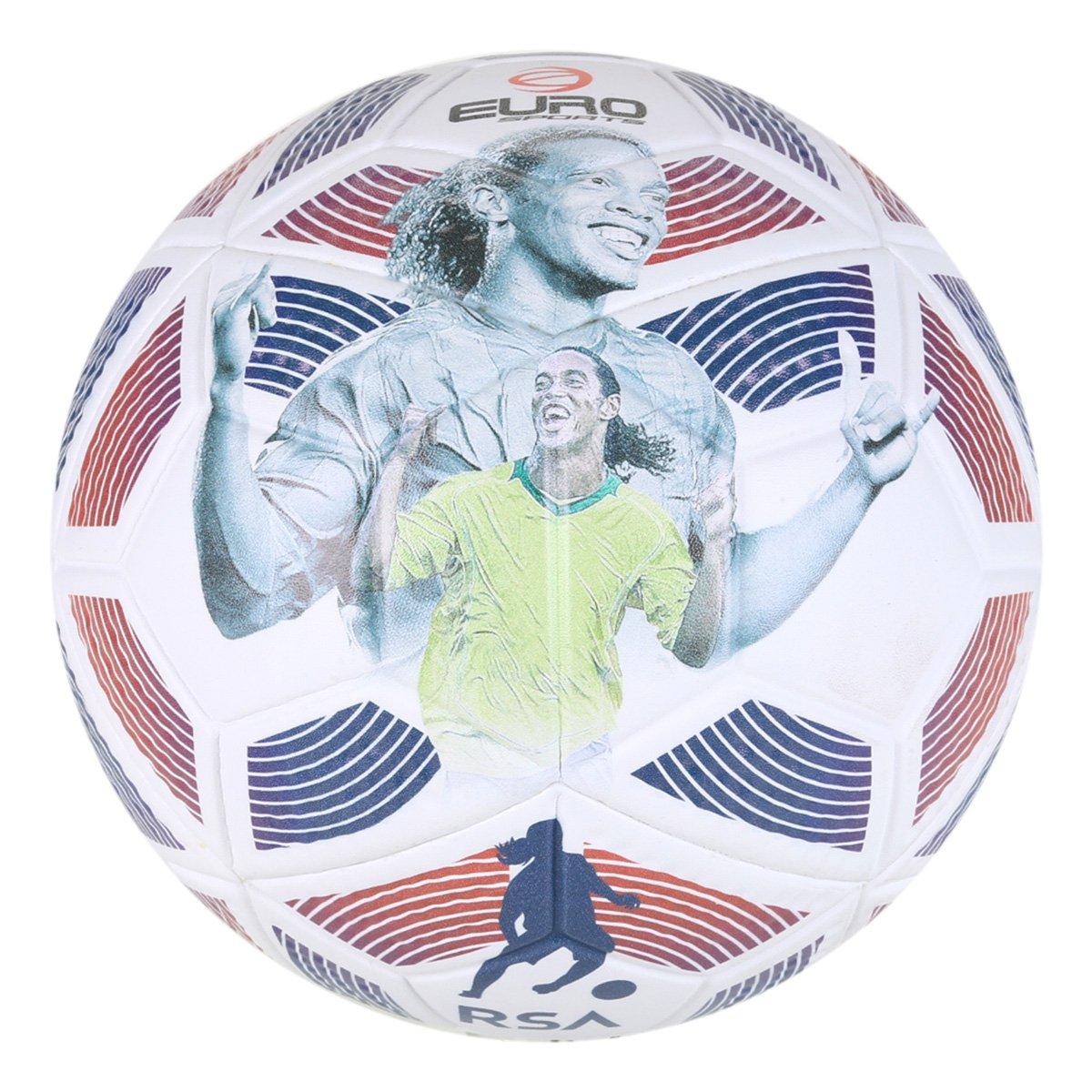 Bola de Futebol Campo Euro Fusion 3D Ronaldinho 2021