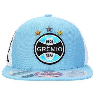 Boné New Era Grêmio Aba Reta Mascote 9FIFTY Masculino c1738f0051fd1