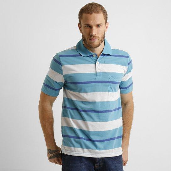 9c2e889c6981e Camisa Polo Sea Surf Listras Com Bolso - Compre Agora   Netshoes