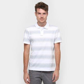 4607858696b Camisa Polo Colombo Listrada Fio Tinto