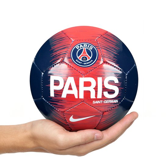 Mini Bola de Futebol Paris Saint-Germain Skills Nike - Azul e Branco ... 841edd5c7e1ce
