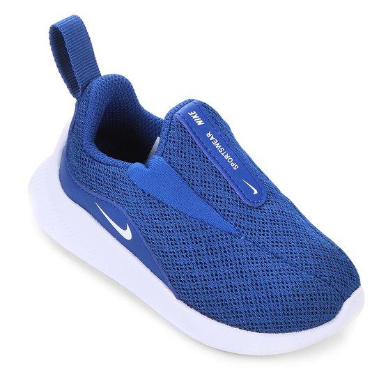 99154065a4a Tênis Infantil Nike Viale Bt Masculino - Azul e Branco - Compre ...