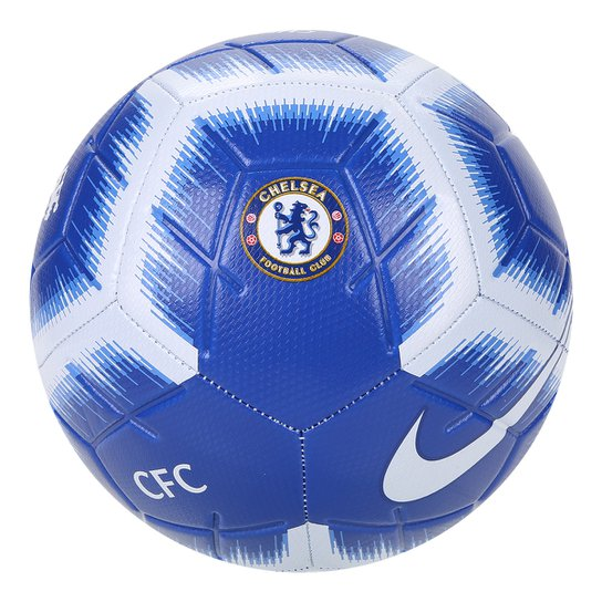3ad4c02437 Bola de Futebol Campo Chelsea Nike CFC Strike - Azul e Branco ...