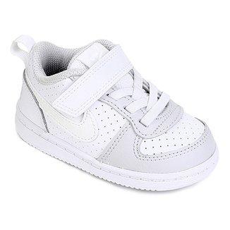 2b8b6f05686 Tênis Nike Infantil Court Borough Low Feminino