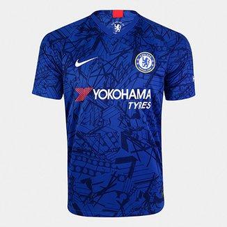 1f2583ea001e5 Camisa Chelsea Home 19/20 s/nº Torcedor Nike Masculina