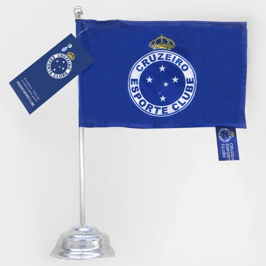 d581ac791f Bandeira Cruzeiro De Mesa - Azul+Branco