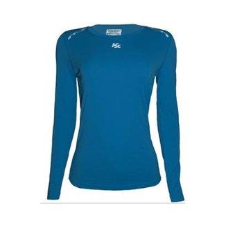 Camisa Térmica Kanxa Feminina Fator Proteção Solar Uv50 6300 6c1b8e8922e7a