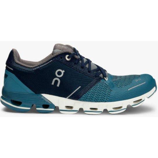 58e9582b5 Tenis F On Running Cloudflyer Feminino - Azul e Branco - Compre ...
