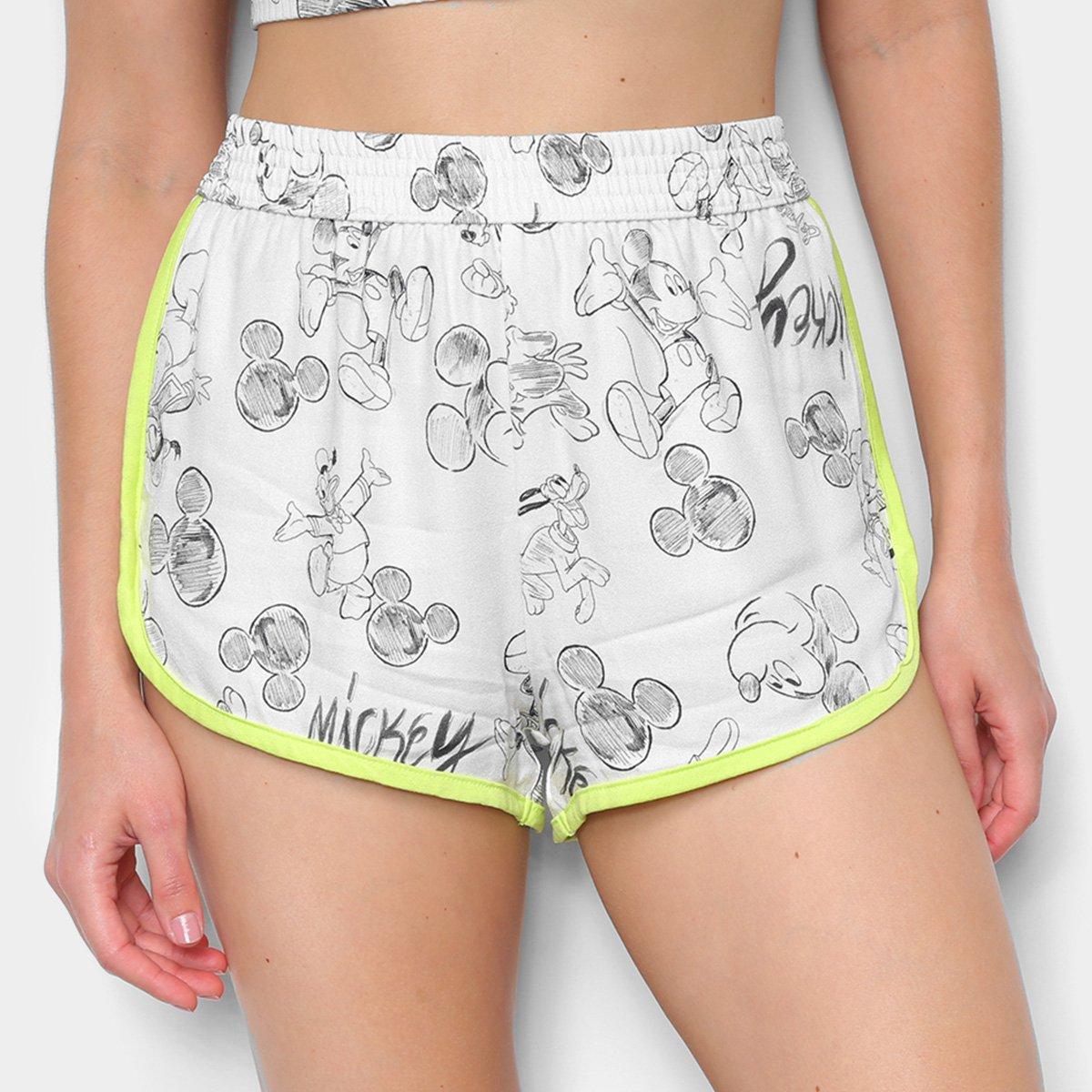 Short Colcci Mickey Mouse Feminino