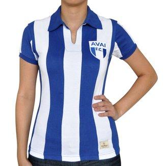 5b19e3f190 Camisa Retrô Mania Feminina Avaí 1960