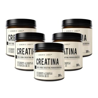 5X Creatina (300G) - Generic Labs