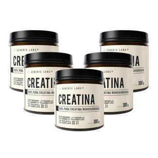 5X Creatina (300G) - Generic Labs