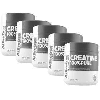 5x Creatine 100% Pure 300g - Atlhetica Nutrition