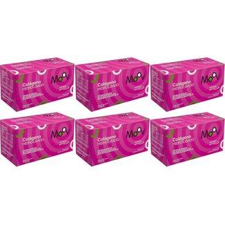 6 Peptídeos Colágeno Hidrolisado Verisol 30 sachês