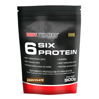 6 Six Protein Refil 900g Exclusivo - Bodybuilders