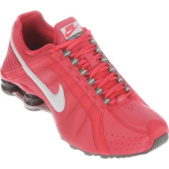 38246e2e465 Tênis Nike Shox Junior - Vermelho Claro