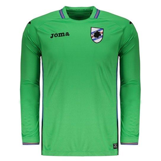 Camisa Joma Sampdoria Goleiro 2018 Manga Longa Masculina - Compre ... 45a3de7bea5db