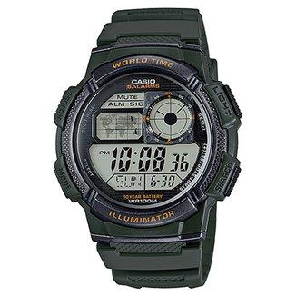 7f79559f8c9 Relógio Casio Digital AE-1000W