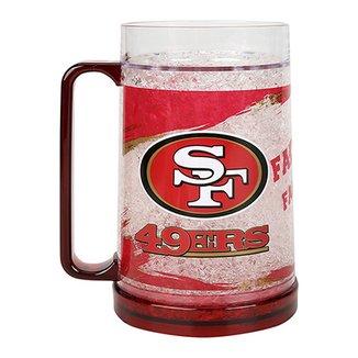 8a262db79 Caneca de Chopp NFL Freezer Mug San Francisco 49 ers 490 ml