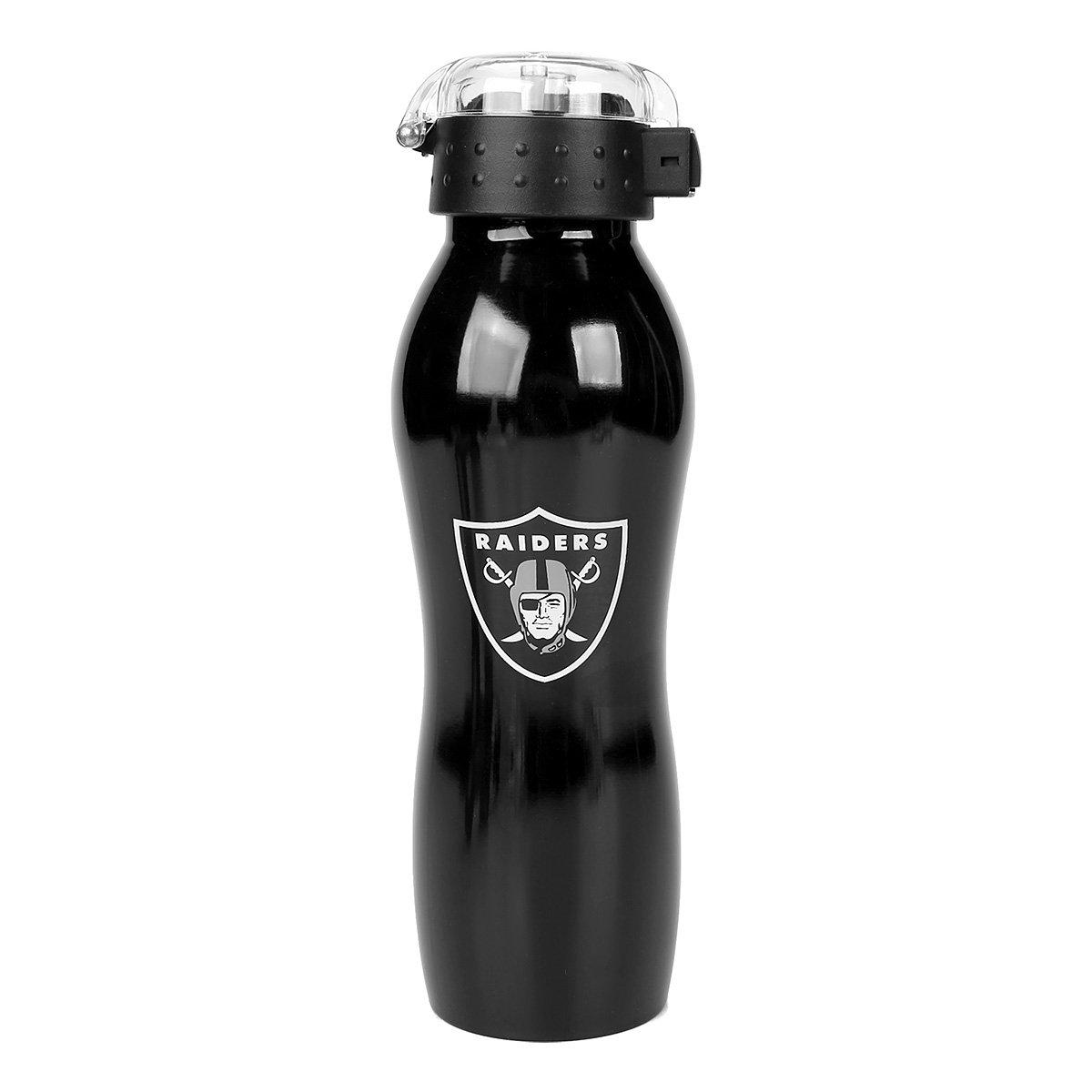 Garrafa Squeeze NFL Oakland Raiders 600 ml