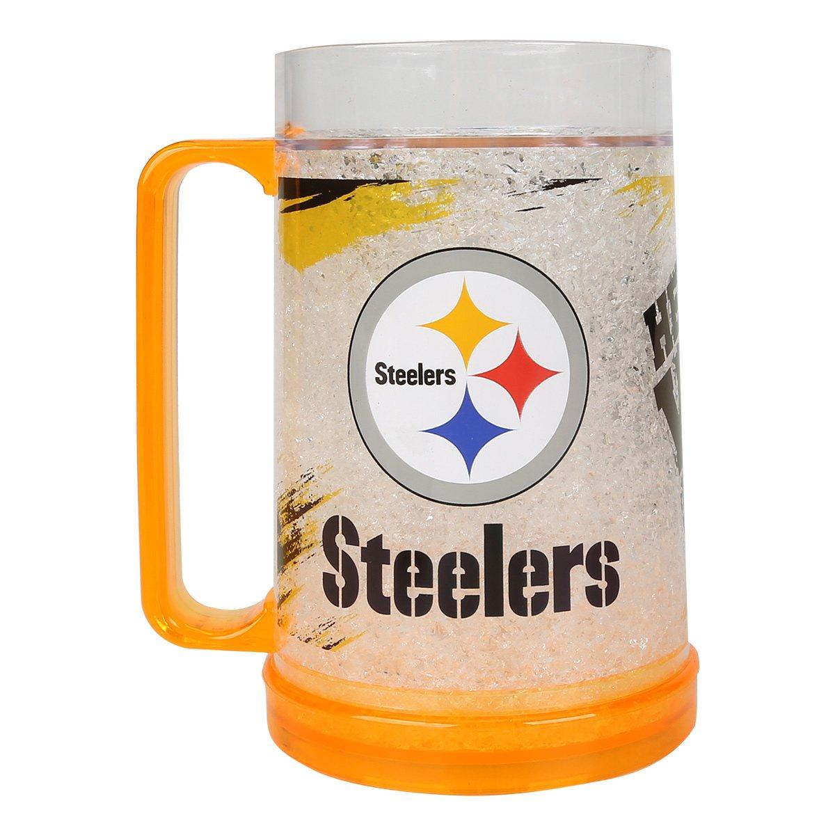Caneca de Chopp NFL Freezer Mug Pittsburgh Steelers 490 ml