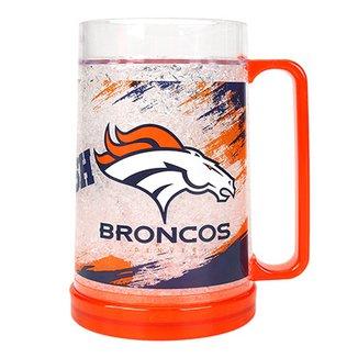 Caneca de Chopp NFL Freezer Mug Denver Broncos 490 ml a7ffbe0ea3f35