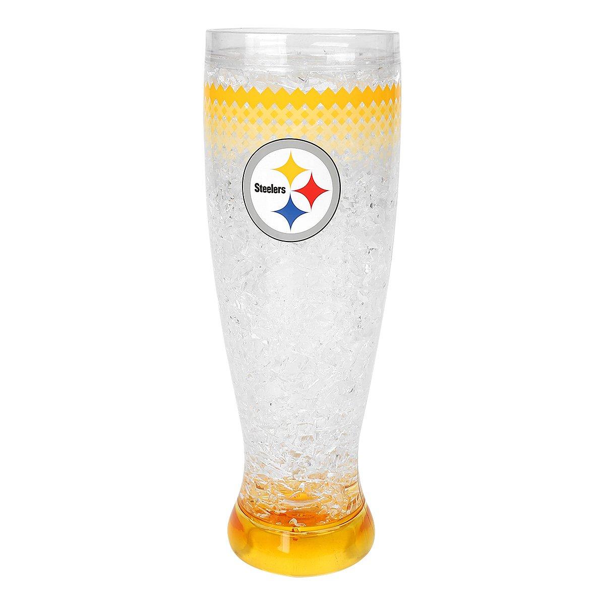 Copo Freezer Pilsner Pittsburgh Steelers 450 ml