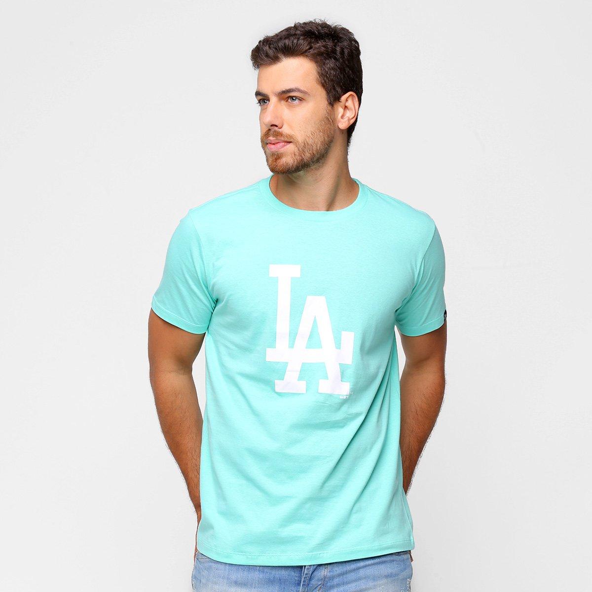 Camiseta New Era MBL Los Angeles Dodgers Essentials Duo Masculina