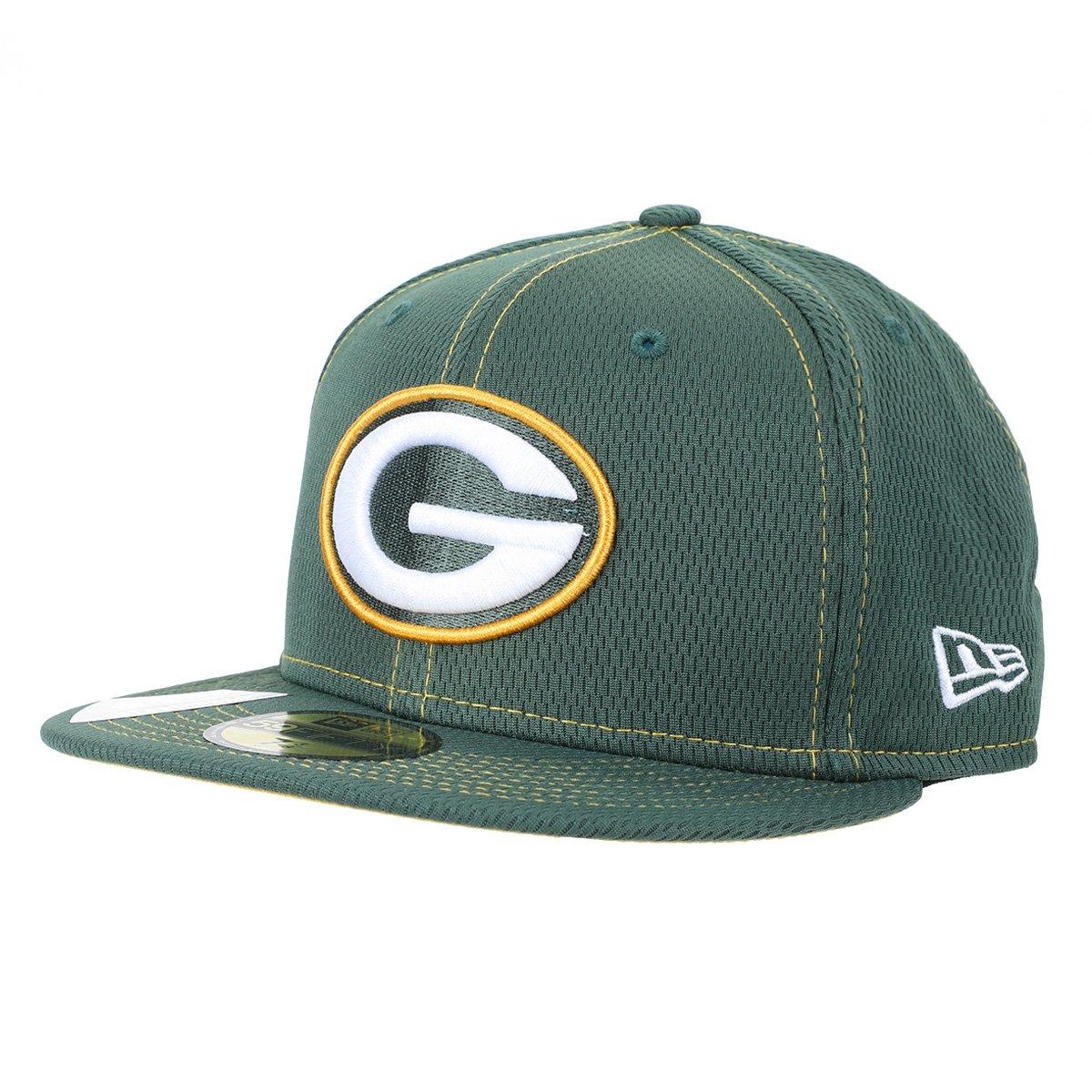 Boné NFL Green Bay Packers New Era Aba Reta Rd 5950