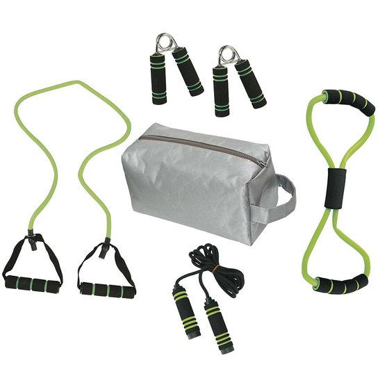 4b1499ef6 Kit Fitness Tonificador Muscular com Bolsa 6 Peças   Netshoes