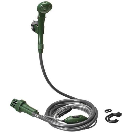 b0156cc5f Chuveiro Ducha Camping Shower 12V Guepardo AE0500 Verde - Verde