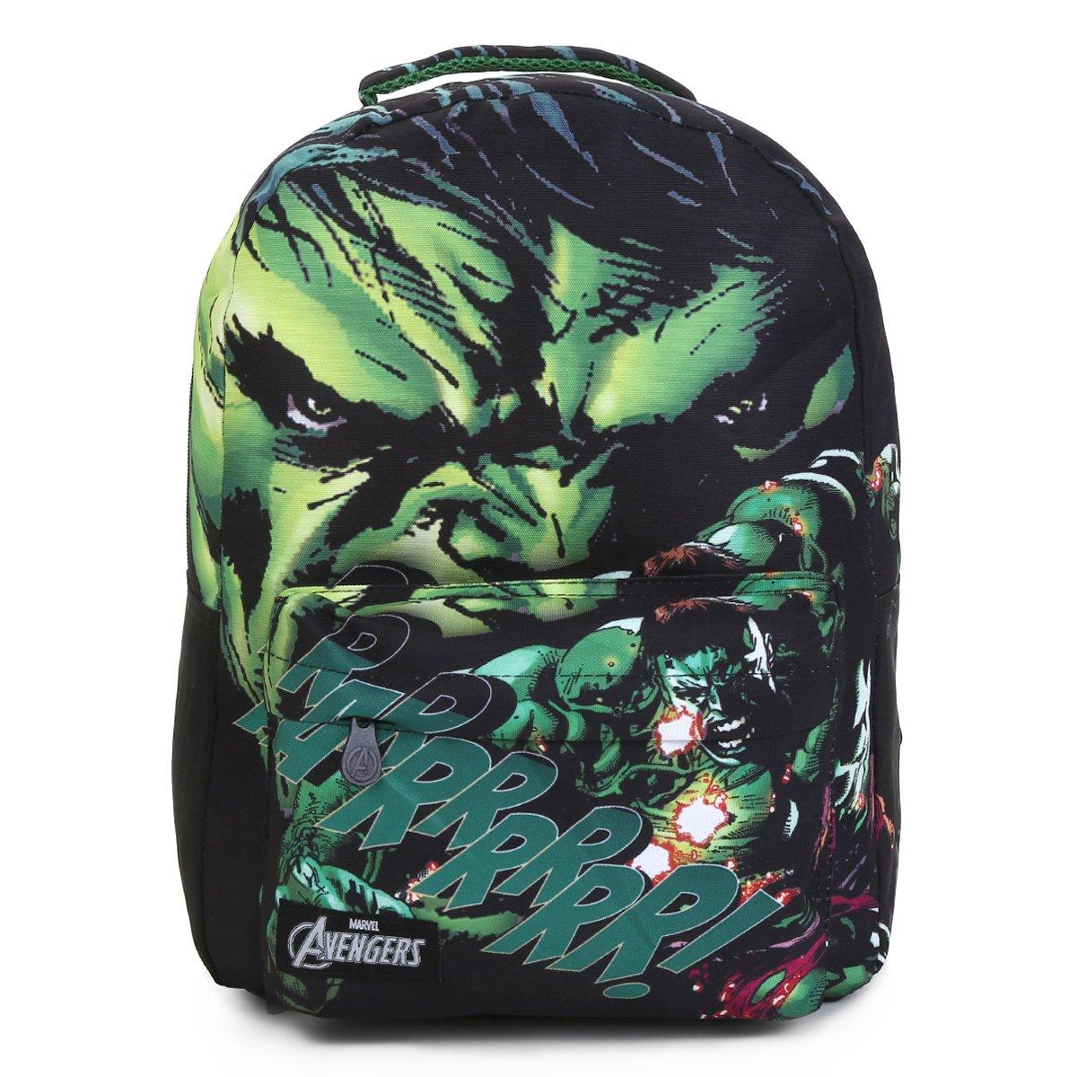 e8ce2e4dc Mochila Infantil Escolar Xeryus Avengers Hulk T4