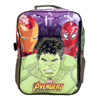 Mochila Escolar Infantil Xeryus Hulk cde893b104e
