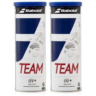 Kit 2 Pack Bola de Tênis Babolat Team