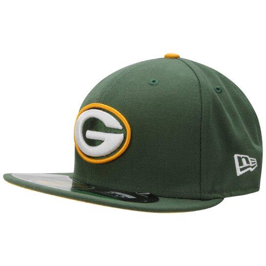 Boné New Era NFL 5950 Evergreen Green Bay Packers - Compre Agora ... 0c4f1bf9027bf