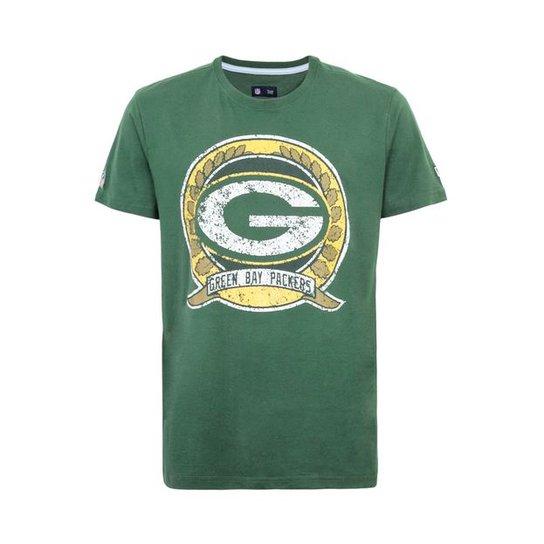eabd9fbd7c Camiseta New Era Circle Green Bay Packers - Compre Agora
