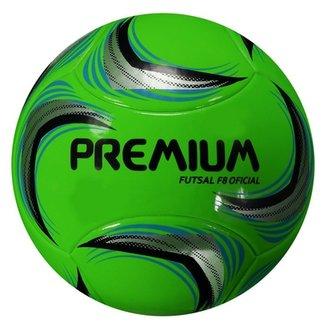 Bola Premium S Termo F8 Futsal Oficial 0712153e1f46d