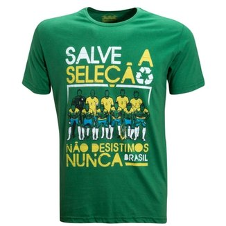 Camisa Liga Retrô Vintage Salve a Seleção bba8957ed2cc4