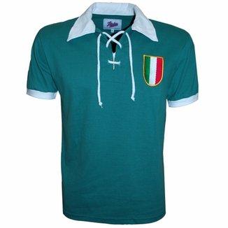 1f8698c536 Camisa Liga Retrô Itália Verde