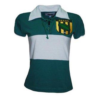 Camisetas Liga Retrô Femininas - Melhores Preços  aef65e21d2c76