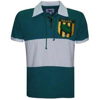 Camiseta Liga Retrô Brasil Rugby 0f7c763cae922