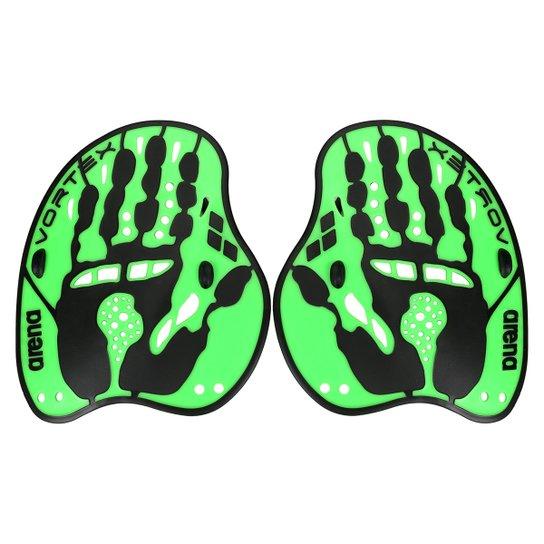 46975e5d0e4 Palmar Para Natação Arena Modelo Vortex Evolution - Verde e Preto ...