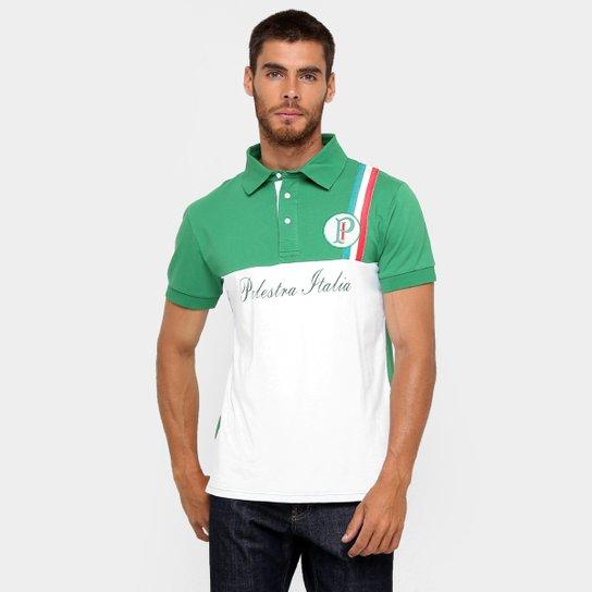 Camisa Polo Palmeiras Palestra Itália Masculina - Compre Agora ... 0f2e05a95a7e5
