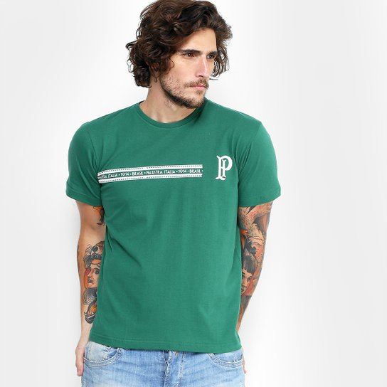 Camiseta Palmeiras Palestra Linha Masculina - Compre Agora  ee762b82c25ea