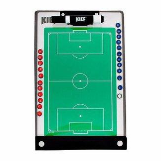 Prancheta Tática Magnética Futebol De Campo Kief Imã  Caneta 8bb952bec3c72